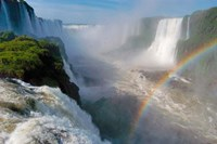 Brazil, Foz do Iguacu Waterfall Fine-Art Print