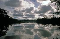 Clouds over Amazon River, Amazon River Basin, Peru Fine-Art Print