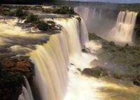 Towering Igwacu Falls Thunders, Brazil Fine-Art Print