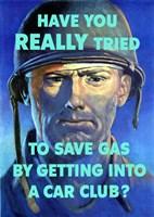 Save Gas - Car Club Fine-Art Print