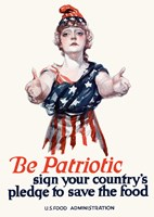 Be Patriotic Fine-Art Print