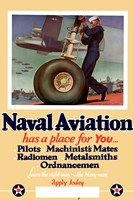 Naval Aviation has a Place for You Fine-Art Print