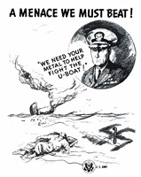 A Menace We Must Beat! Fine-Art Print