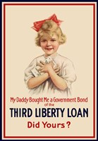 Third Liberty Loan Poster Fine-Art Print