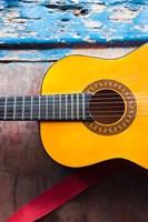Cuba, Sancti Spiritus, Trinidad, Cuban guitar Fine-Art Print