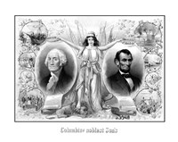 President Washingtons and Lincoln Fine-Art Print