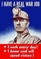 I Have a Real War Job Fine-Art Print