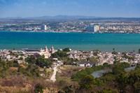 Cuba, Matanzas, City and Bahia de Matanzas Bay Fine-Art Print