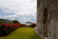 Ruins at Chateau Dubuc, Caravelle Peninsula, Martinique, French Antilles, West Indies Fine-Art Print