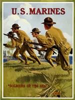 U.S. Marines - Soldiers of the Sea Fine-Art Print