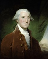 Digitally Restored Vector Painting of George Washington Fine-Art Print