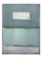 Azure Blue I Fine-Art Print