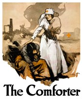 The Comforter - Red Cross Fine-Art Print