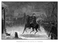 George Washington at The Battle of Trenton Fine-Art Print