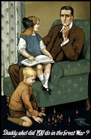 Daddy, What Did You Do? Fine-Art Print
