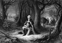 General George Washington Praying at Valley Forge Fine-Art Print