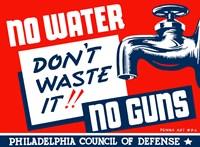 No Water, No Guns Fine-Art Print