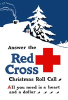Red Cross Christmas Roll Call Fine-Art Print