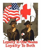 Loyatly to One Means Loyalty to Both Fine-Art Print