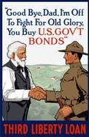 Third Liberty Loan - Good Bye Dad Fine-Art Print