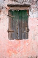 Exterior of Building, St Pierre, Martinique, French Antilles, West Indies Fine-Art Print