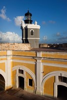 Puerto Rico, Old San Juan, El Morro lighthouse Fine-Art Print