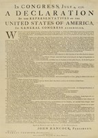 United States Declaration of Independence Fine-Art Print