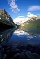 Victoria Glacier and Lake Louise, Banff National Park, Alberta, Canada Fine-Art Print
