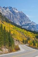 Canada, Alberta, Jasper NP Scenic of The Icefields Parkway Fine-Art Print