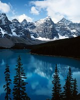 Lake Moraine, Banff National Park, Alberta, Canada Fine-Art Print