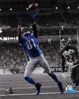 Calvin Johnson 2014 Spotlight Action Fine-Art Print