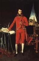 Napoleon Bonaparte in Red Fine-Art Print