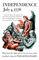 Thomas Jefferson Reading the Declaration of Independence Fine-Art Print