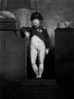 Napoleon Bonaparte Exiting a Ship Fine-Art Print
