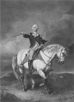 General George Washington on Horseback Fine-Art Print