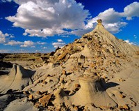 Badlands at Dinosaur Provincial Park in Alberta, Canada Fine-Art Print
