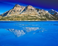 Vimy Peak Reflects into Waterton Lake, Wateron Lakes National Park, Alberta, Canada Fine-Art Print