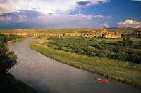 Milk River at Writing On Stone Provincial Park, Alberta Fine-Art Print