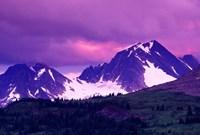 Alberta, Canadian Rockies, Tonquin Valley landscapes Fine-Art Print