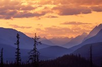 Sunset in Banff National Park, Alberta, Canada Fine-Art Print
