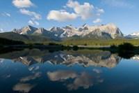 Lower Kananaskis Lake, Peter Lougheed Park, Alberta Fine-Art Print
