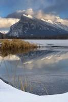 Mount Rundle, Vermillion Lake, Banff NP, Alberta Fine-Art Print