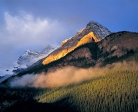 Alberta, Banff NP, Sunrise of the Canadian Rockies Fine-Art Print