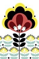 Nordic Flowers V Fine-Art Print