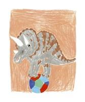 Triceratops Balance Fine-Art Print