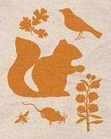 Woodland Creatures II Fine-Art Print