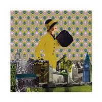 Vintage City I Fine-Art Print