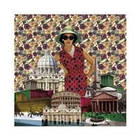 Vintage City IV Fine-Art Print