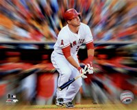 Mike Trout Motion Blast Fine-Art Print