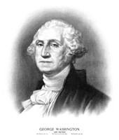 Bust of President George Washington Fine-Art Print